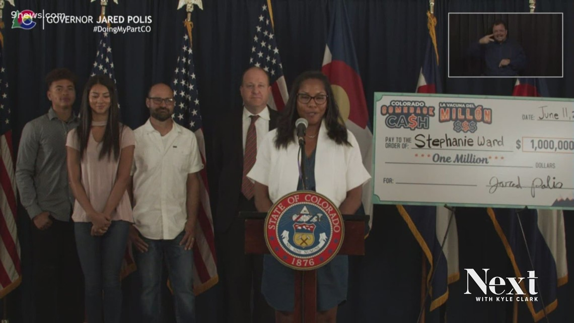 2nd winner of Colorado's $1 million vaccine announced Friday