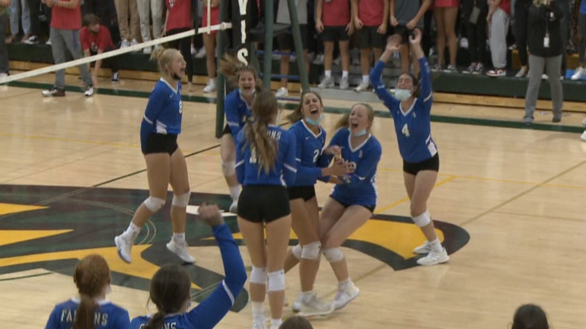 Highlands Ranch outlasts Mountain Vista in epic volleyball battle