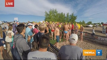 Swimmers raise more than $200,000 to fight cancer at Swim Across America Denver