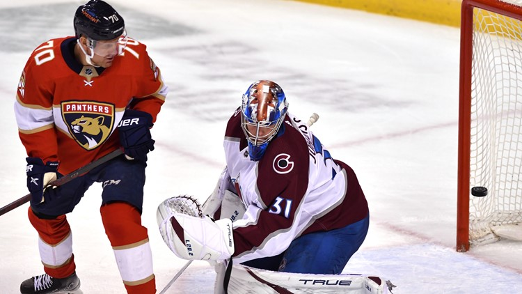 Avalanche drop third-straight game, lose to Panthers 4-1