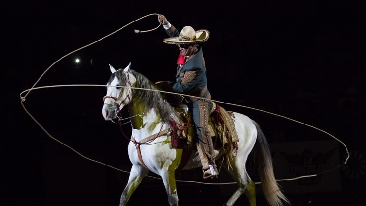National Western Stock Show Mexican rodeo roper