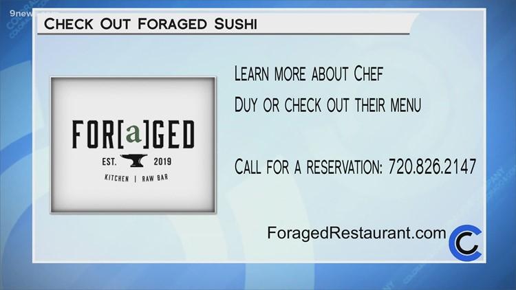 Foraged Sushi - July 29, 2021