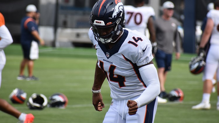 Bronco notes: Sutton close to full recovery from knee injury after productive practice