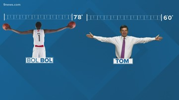 How tall is new Nugget Bol Bol? We built some graphics to explain.