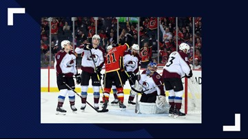 Giordano has 3 assists, Flames down Avalanche 5-3
