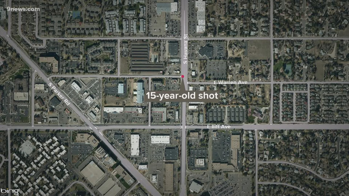 15-year-old shot in Aurora
