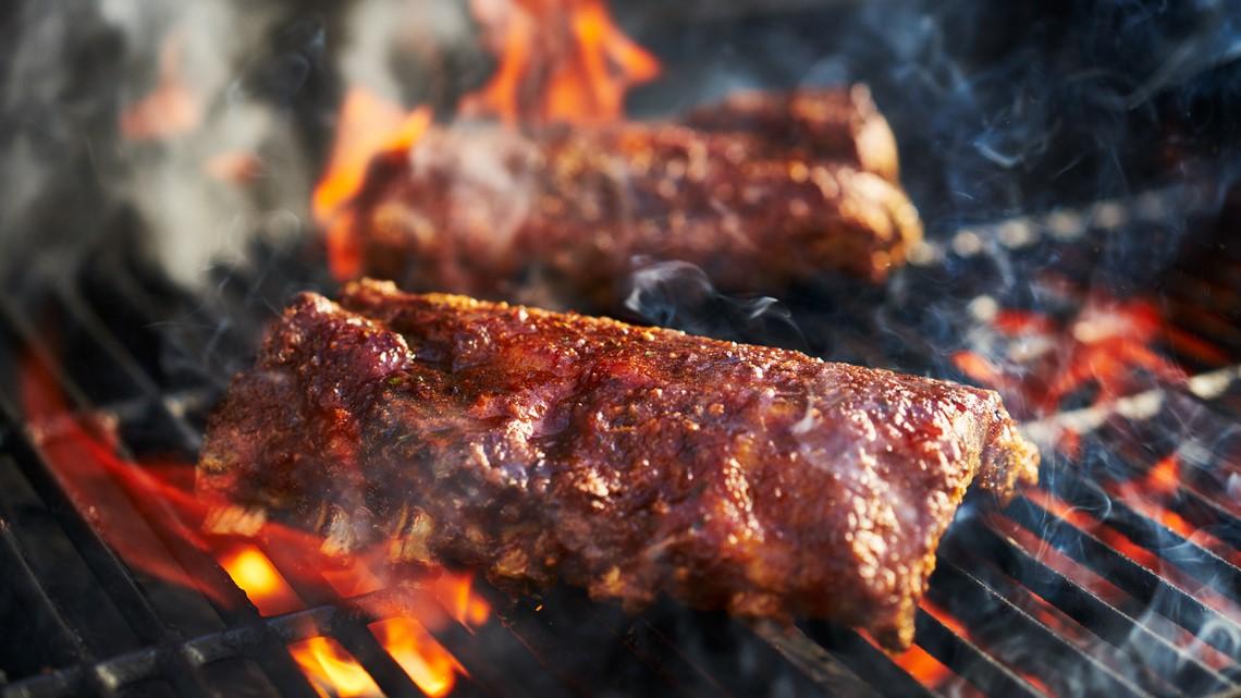 Dry-rubbed Kansas City ribs