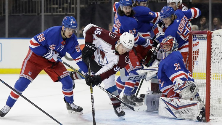 Avalanche Rangers Hockey Igor Shesterkin Mikko Rantanen