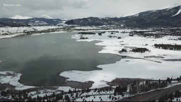 There's a reason why water levels are so low at Dillon Reservoir