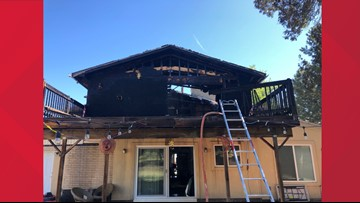 Dogs survive fire that significantly damaged Lakewood home