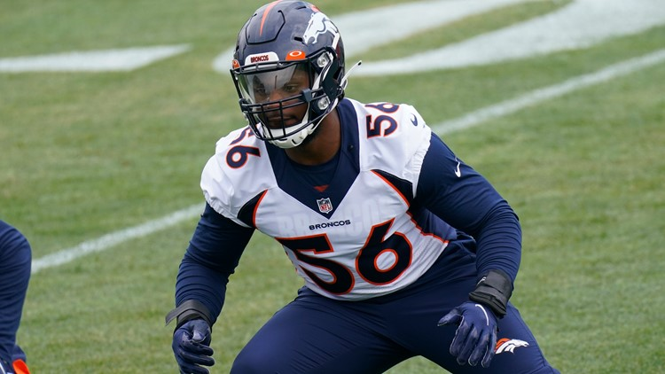 Broncos reach contract agreement with 3rd-round linebacker Baron Browning