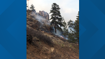 JeffCo fire that burned 50 acres considered 'suspicious'