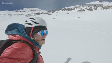 When the competitions ended, her drive didn't. Now she's shredding all of Colorado's 14ers