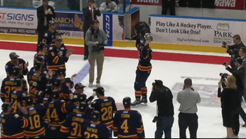ECHL claims Colorado Eagles won't return Kelly Cup