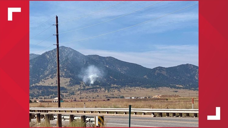Fire burn a quarter of an acre in Coal Creek Canyon, 100% contained