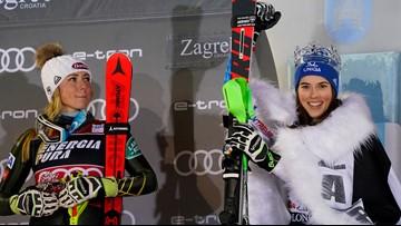 Dominant Vlhova snaps Shiffrin's winning slalom streak