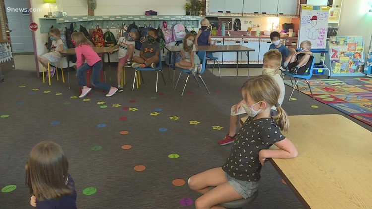 CDPHE recommends mask requirement in K-12 schools