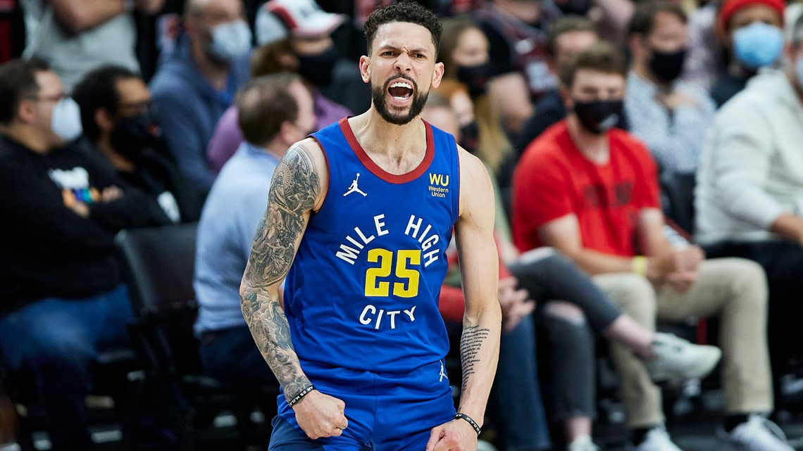 Austin Rivers breaks out for Nuggets in NBA playoffs