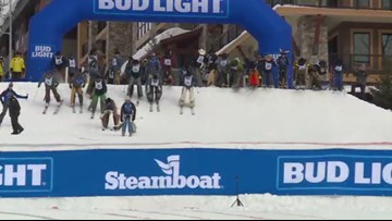 The Cowboy Downhill is pure chaos. Here's the stampede to prove it.