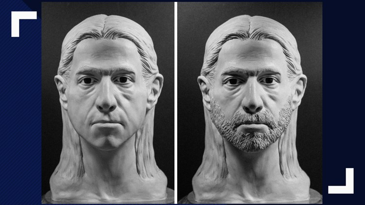 Facial reconstruction of Boulder County cold case from 1993