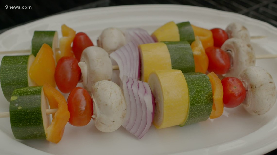 Make the most of summer grilling with veggie kebabs