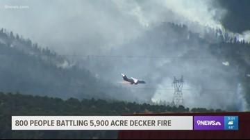 High winds remain a concern as Decker Fire reaches 5,900 acres