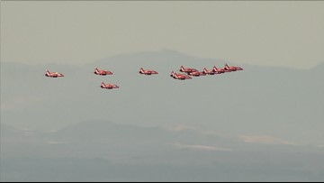 Loud, fast and bright red —