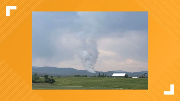 Evacuations lifted following wildfire east of Durango