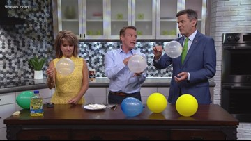 Spangler Science: How to push a skewer through a balloon