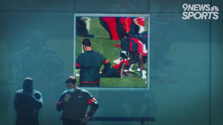 5 years after career-threatening knee injury, Bridgewater brings smile to Broncos' QB competition