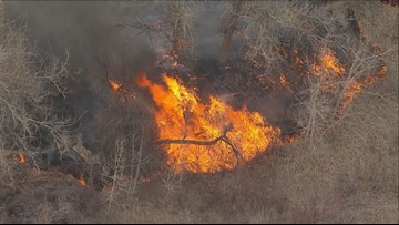 Crews already battling Colorado fires after recent blizzard