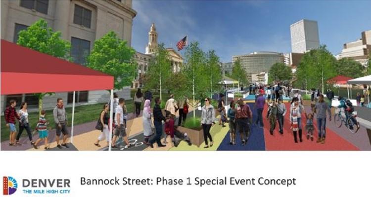 Bannock Street transformation