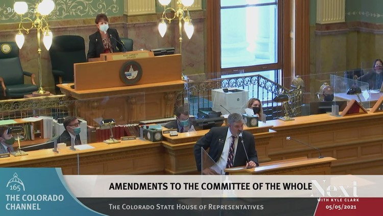 Tempers flare in Colorado House, again, and over comments from Rep. Richard Holtorf of Akron