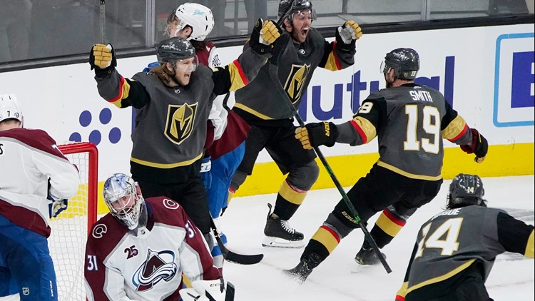 Avalanche let Game 3 slip away to Golden Knights