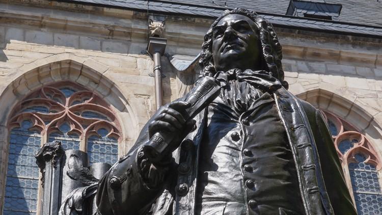 Johann Sebastian Bach is buried