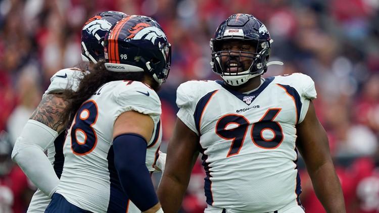 Broncos scrambling to field a defensive line vs. Chiefs