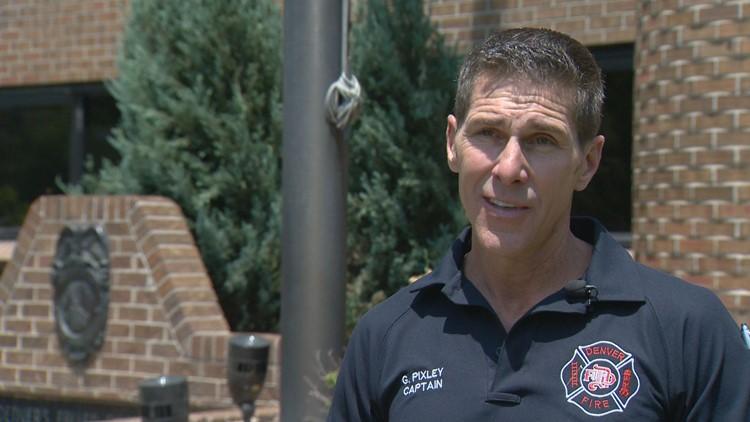 Denver Fire Department Captain Greg Pixley. (Courtesy: Byron Reed)