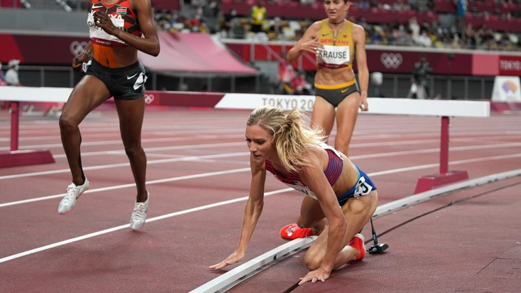 Colorado's Emma Coburn disqualified from steeplechase final, US teammate wins silver