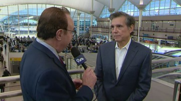 Former Denver Mayor Federico Peña reflects on DIA's opening 25 years ago