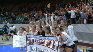 No. 3 Lewis-Palmer wins fourth straight 4A volleyball title