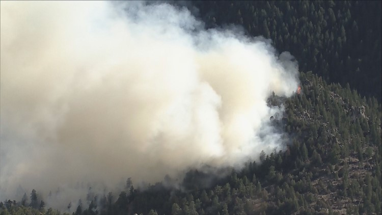 'Tiny House Fire' that prompted evacuations near Lyons almost contained