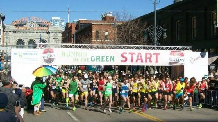 Runnin' of the Green race