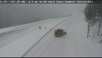 I-70 lanes on Vail Pass facing multiple closures due to snow