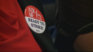 Denver teachers vote to strike, substitutes expected to take over in the classroom