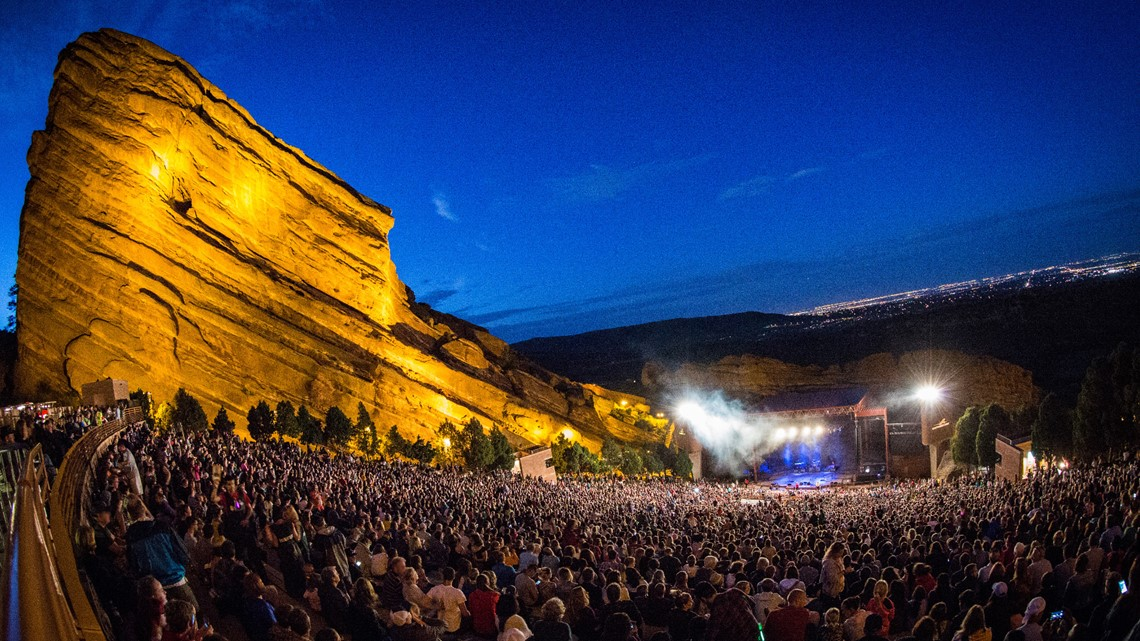 Red Rocks Calendar 2022.Who S Playing Red Rocks This Summer Of 2021 9news Com