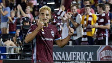 Rapids' Andre Shinyashiki named MLS Rookie of the Year