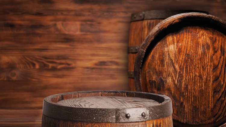 whiskey Rustic wooden barrel on a night background.Rustic wooden barrel on a night background.Rustic wooden barrel on a night background.Rustic wooden barrel on a night background.Rustic wooden barrel on a night background.Rustic wooden barrel on a night background.
