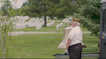 Storytellers: Honor Bell tolls for the fallen and its founder
