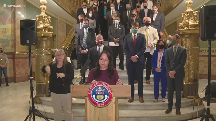 Polis, state legislative leaders announce transportation bill