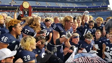 No. 1 Pine Creek claims 4A football title with dominating win